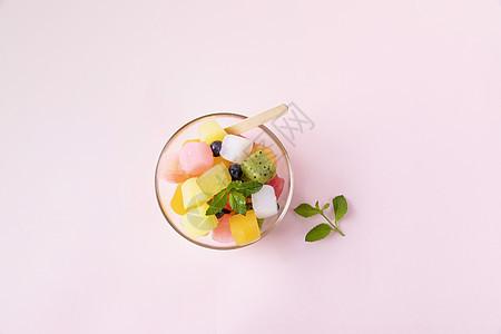 水果冰块图片