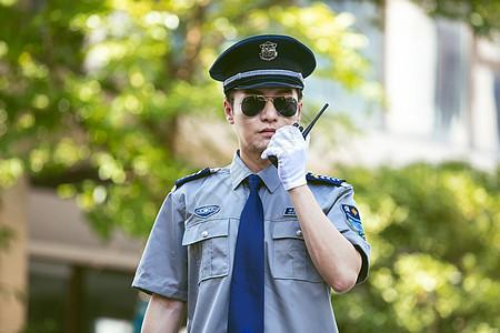保安户外对讲机图片