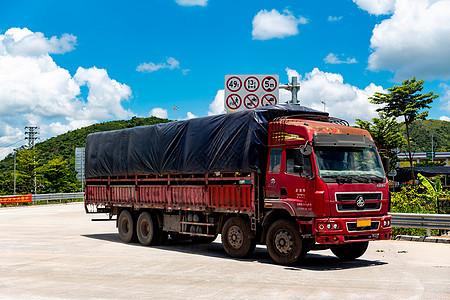 物流运输车辆图片