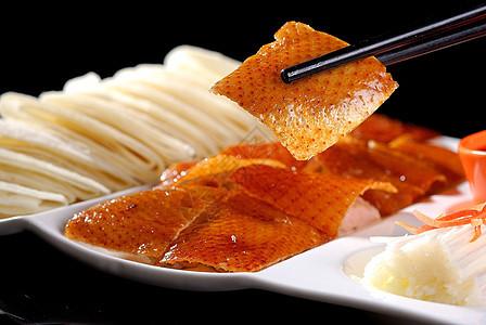 果木烤鸭图片