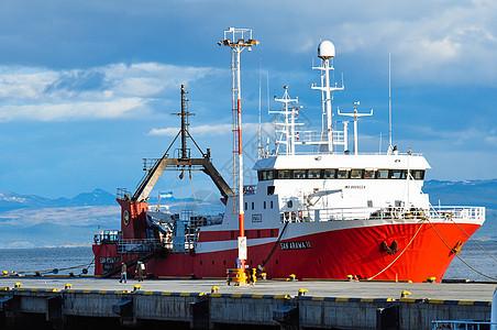 南极科考船图片