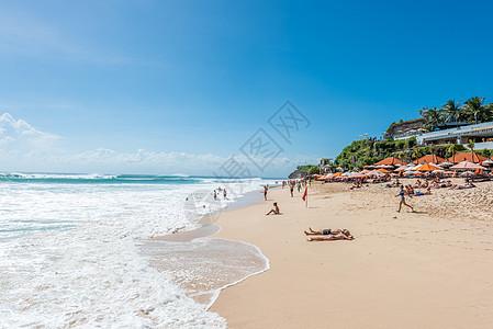 印尼巴厘岛度假沙滩图片