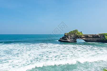 印尼巴厘岛海神庙风光图片