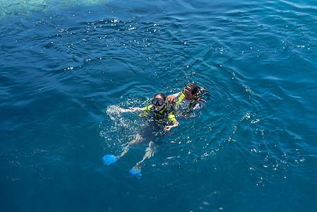 印尼海岛美娜多潜水图片