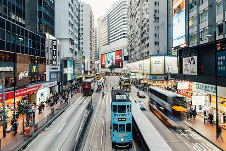 香港中环商业街图片
