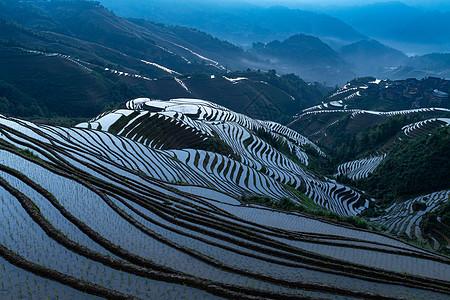 桂林龙脊梯田风景图片