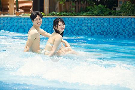 情侣水上乐园娱乐图片