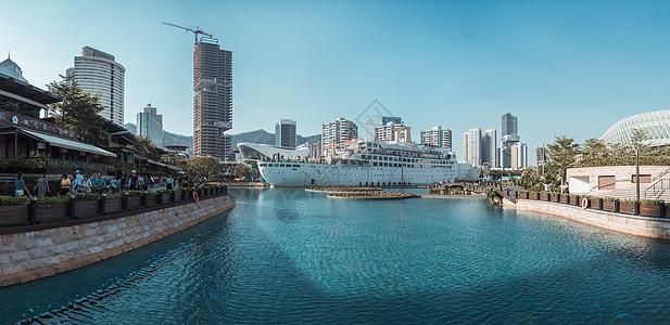 广东省深圳市南山区海上世界风光图片