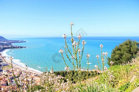 西西里岛海景图片