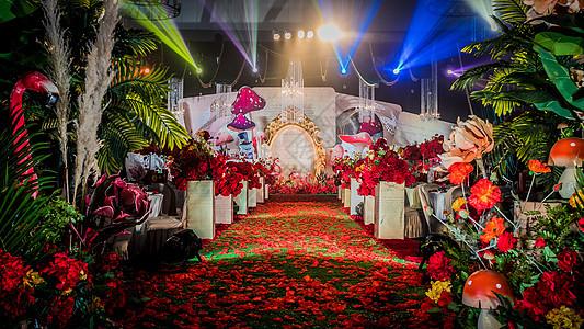 婚礼布景图片
