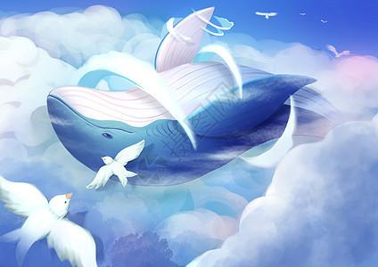 梦幻鲸图片
