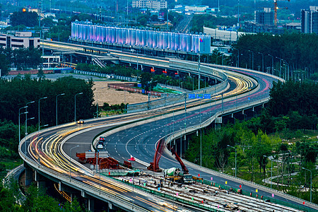 北京S型立交桥建筑图片
