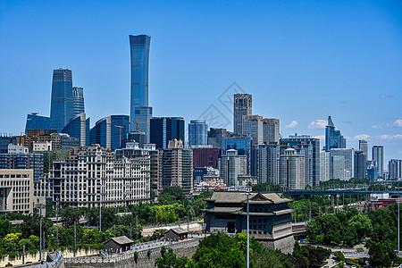 北京古与现交融建筑图片
