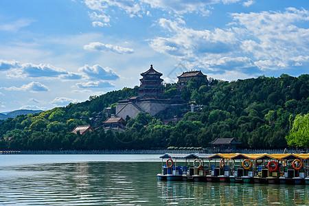 北京颐和园内景图片