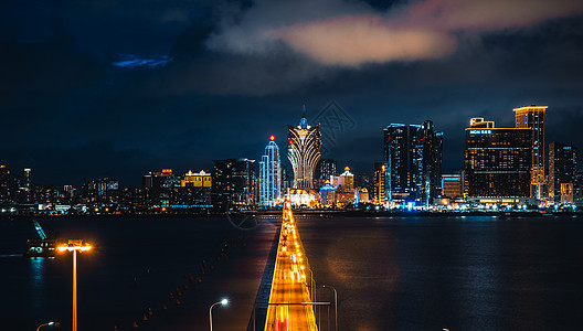 澳门街景与新葡京图片
