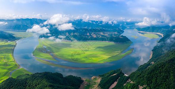 鸭绿江风光图片