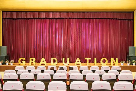 毕业舞台背景图片