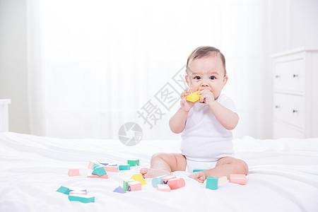 外国婴儿早教图片