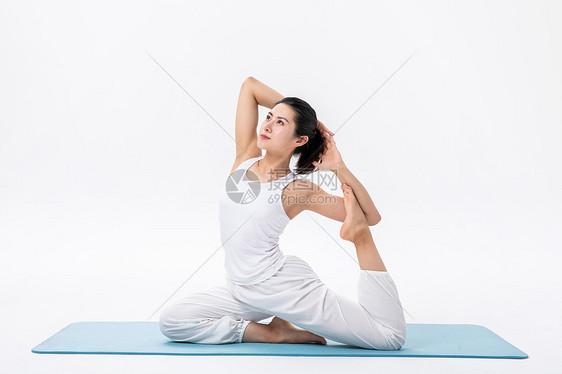 女性瑜伽健身图片
