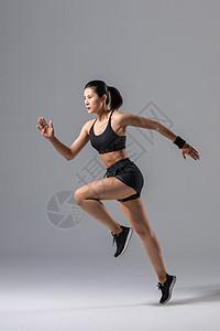 女性运动跑步图片