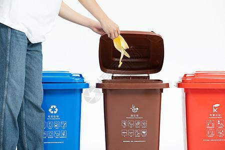 扔垃圾图片