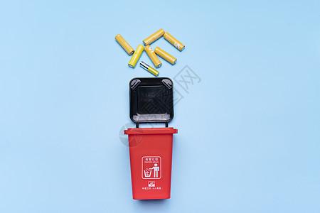 废旧电池图片