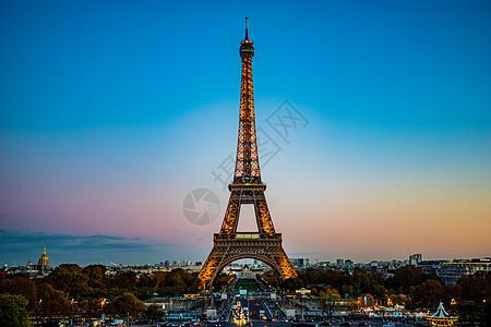 法国巴黎埃菲尔铁塔图片