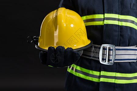 消防员形象图片