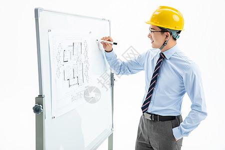 建筑工程师工作形象图片
