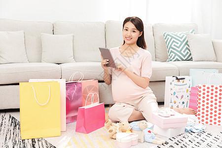 孕妇购物礼物图片