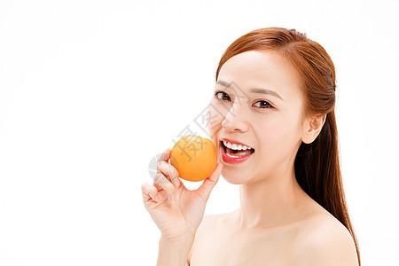 美女健康饮食图片