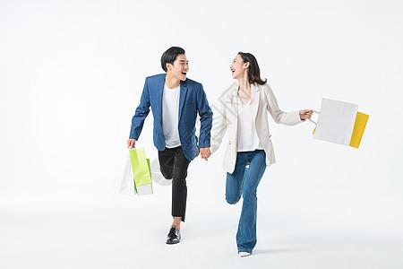都市情侣购物图片