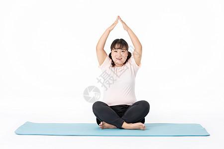 胖女孩运动减肥图片