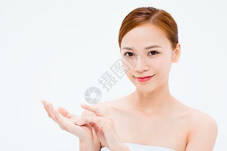 美女美容护肤图片