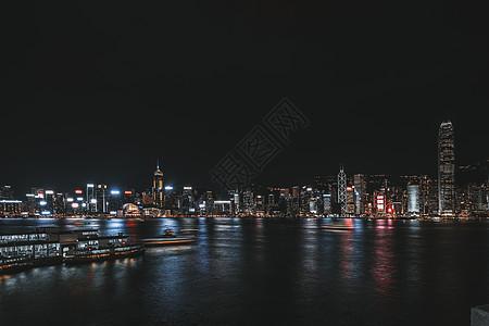 香港维多利亚港夜景picture