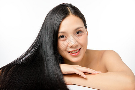 女性美发护发图片