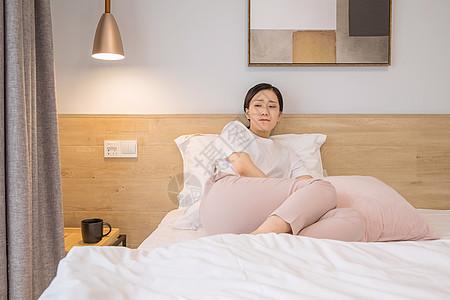 女性痛经图片