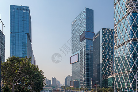 深圳南山区腾讯公司总部大楼图片