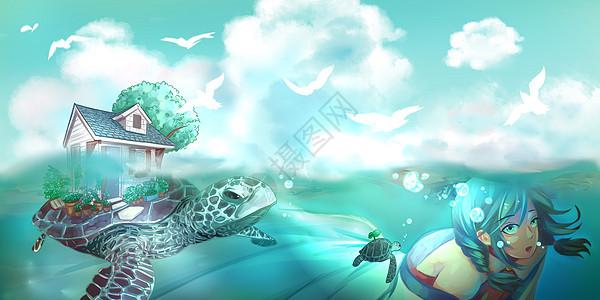 大海之旅图片