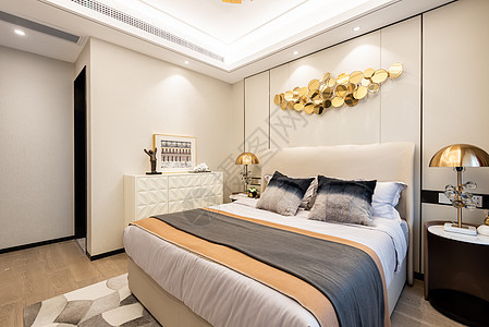 样板间卧室空间图片