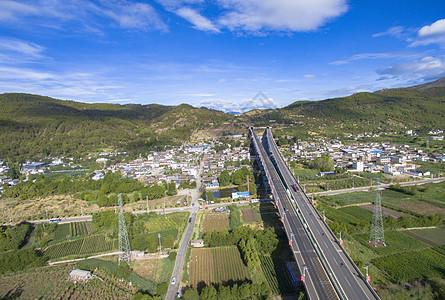 丽江雪山高速公路图片