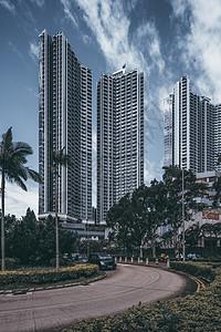 香港小区居民楼图片