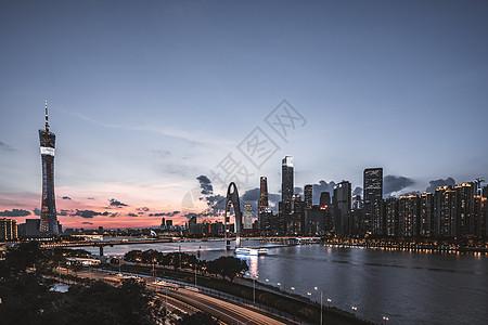 广州珠江两岸风光图片