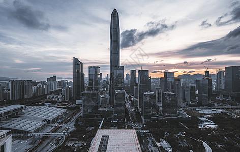 深圳福田城市cbd图片