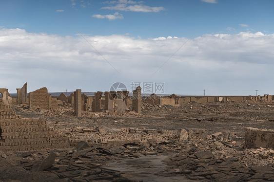 西北大柴旦冷湖石油小镇图片