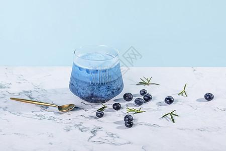 蓝莓饮料图片