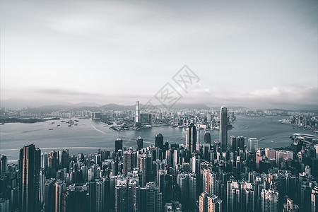 香港维多利亚港图片