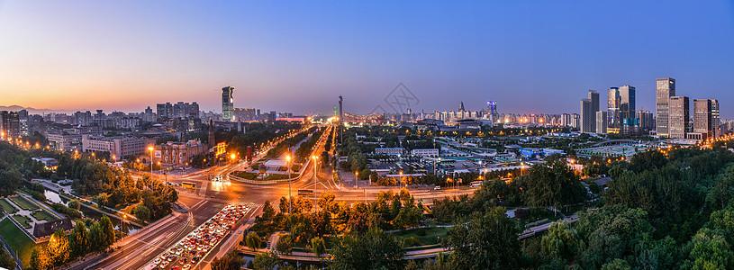 北京奥体中心夜晚图片