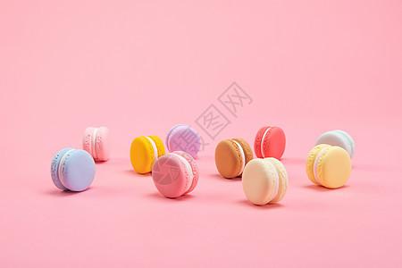 甜点马卡龙图片