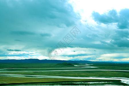 黄河九曲十八弯图片
